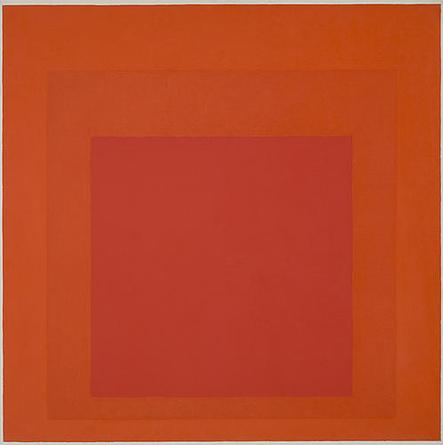 JOSEF ALBERS Study For Homage To The Square (Signal) 1966 Oil on masonite 32 x 32 in