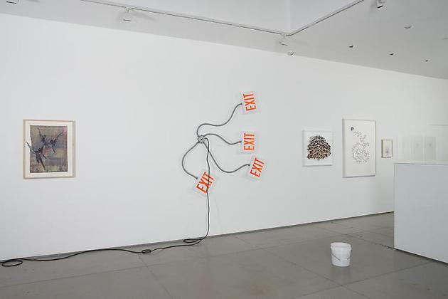 Love in Vein: Editions Fawbush projects & artists 2005-2010 installation view 4