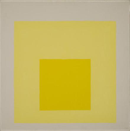 JOSEF ALBERS Study For Homage To The Square (Yes) 1971 Oil on masonite 24 x 24 in