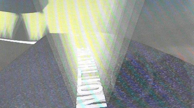 Happy Birthday John, 2003 3-D animated loop on DVD, DVD player Edition of 5