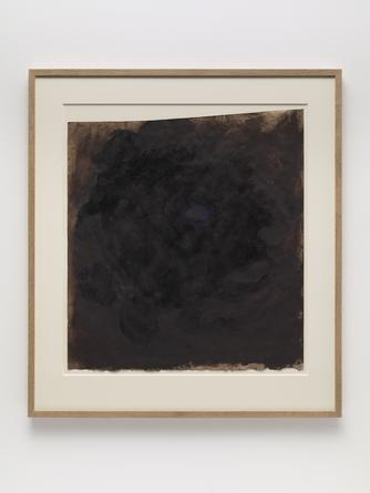 ANISH KAPOOR Untitled, 1989 Varnish, gouache & pigment on paper 24 x 21 ½ inches Courtesy of the Artist & Gladstone Gallery, New York/Brussels