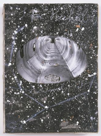 ANSELM KIEFER  Sefer Hechaloth, 2005 Artist's book: photographs on paper on cardboard  3 x 16 ½ x 23 ⅝ inches, closed