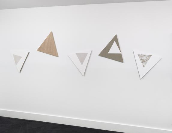 Installation view: Angles