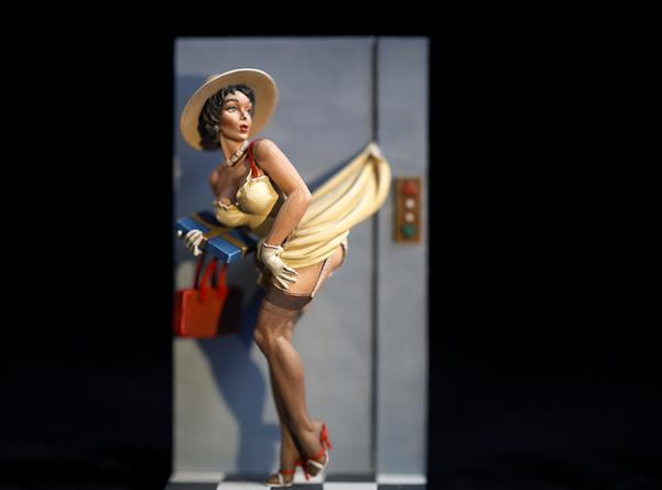 DAVID LEVINTHAL Untitled (from the series Pin-Ups), 2015 Pigment print on paper 17 x 22 inches  edition of 5  SGI3034
