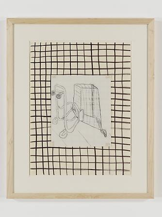 radio amnesia pt 2: a survey of works on paper 1997-2013 David Salle Untitled (Shopping Cart), 1976 Charcoal & ink on paper 18 x 12 1/2 inches GLG2451