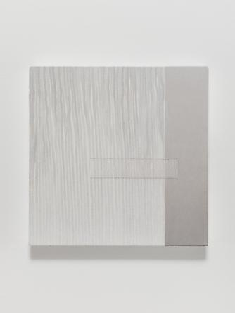 Elena del Rivero Love Song #14, 2012 Oil, ink & thread on linen 14 x 14 inches
