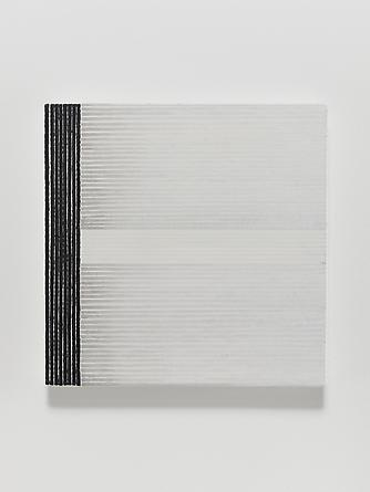 Elena del Rivero Love Song #21, 2012 Oil & ink on linen 14 x 14 inches