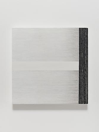 Elena del Rivero Love Song #22, 2012 Oil & ink on linen 14 x 14 inches