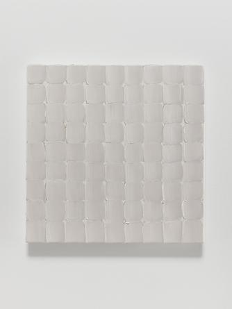 Elena del Rivero Love Song #16, 2012 Oil & ink on linen 14 x 14 inches