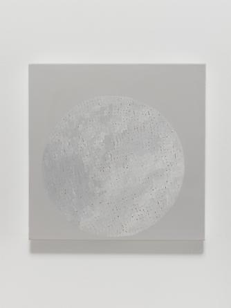 Elena del Rivero Love Song #19, 2012 Oil & ink on linen 14 x 14 inches