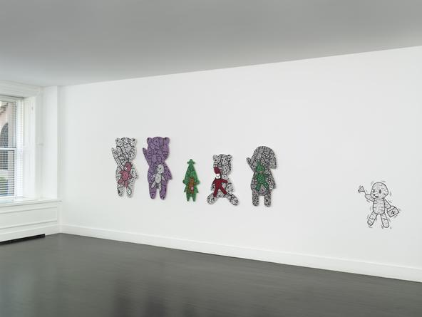 Installation view: Big City Life - Loveless