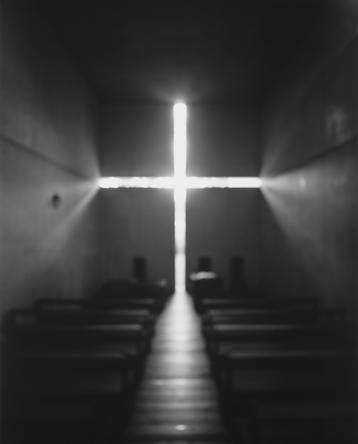 HIROSHI SUGIMOTO Church of Light, 1997 Black & white photograph  24 x 20 inches
