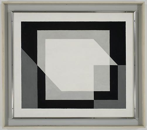 JOSEF ALBERS Composure, 1937 Oil on masonite 31 1/2 x 36 1/2 inches