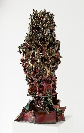 Shapeshifter, 2011 Ceramic 35 1/2 x 15 x 15 inches GLG2604