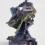 JULIA KUNIN Purple Ruin, 2014  Ceramic  16 x 11 x 11 inches  SGI2826