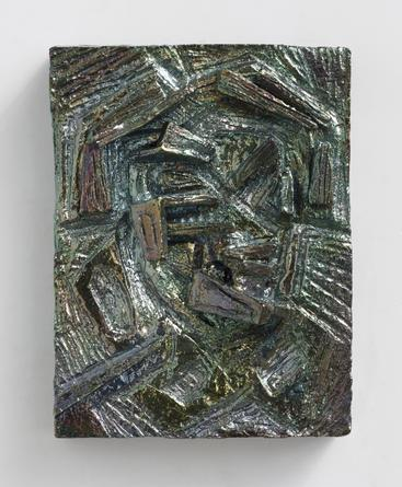 Zircon, 2014 Ceramic 13 ½ x 10 x 2 ½ inches SGI2847