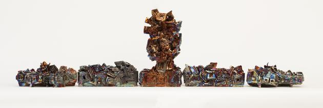 Bismuth Figure, 2013 Ceramic 19 1/2 x 71 x 11 inches SGI2852