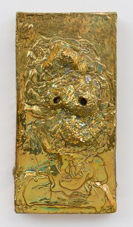 Gold Lava, 2013 Ceramic 18 x 9 x 2 inches SGI2871