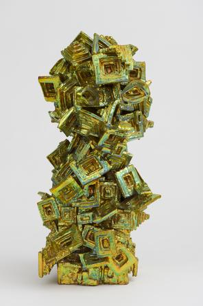 JULIA KUNIN Green Mirrors, 2013, ceramic, 22 x 11 x 9 1/2 inches, SGI2873.