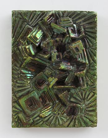 Tourmaline Dream, 2013 Ceramic 10 x 14 x 3 ½ inches SGI2878