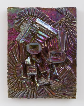 Magenta Gem, 2013 Ceramic 13 ½ x 10 x 3 ½ inches SGI2879