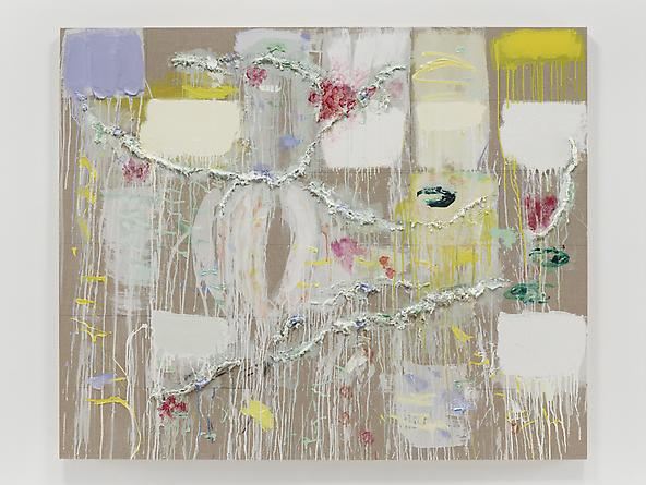 Spring Eternal, 2012 Oil, acrylic graphite & paper mache on linen 54 x 66 inches GLG2227