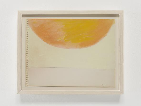 Half Sun, 1968 Pastel & graphite on paper 9 x 12 inches GLG2357