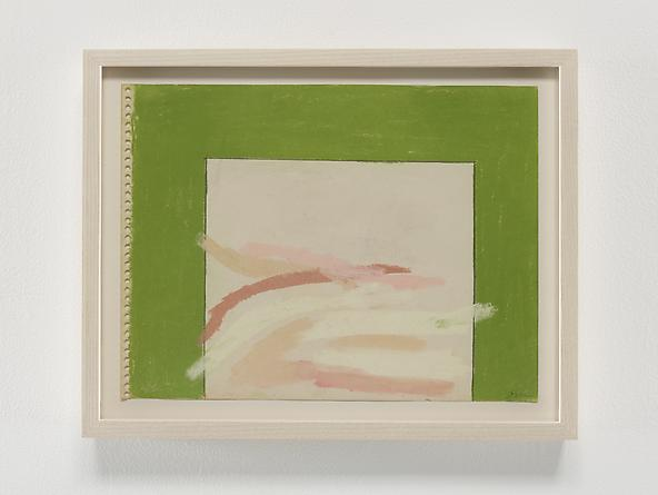 Green Border, 1968 Pastel & graphite on paper 9 x 12 inches GLG2363