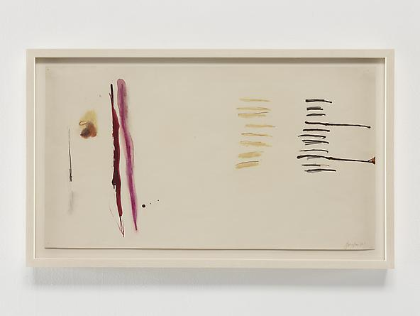 Untitled (1970 series 1_4), 1970 Ink & graphite on paper 11 x 20 inches GLG2374