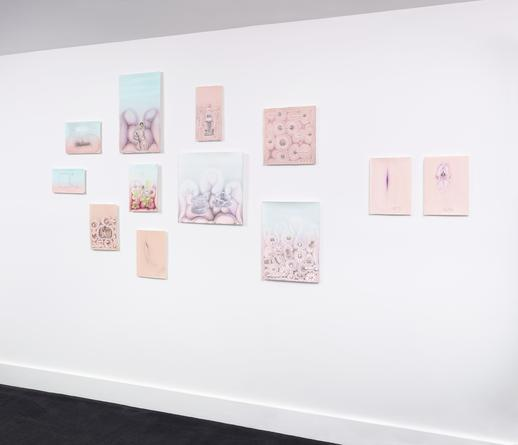 Installation view: Preventing the Sharp from Being Sharp