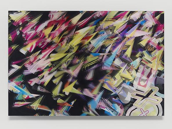 Eksplosion #1, 2012 Lenticular print 31 1/4 x 46 1/4 inches