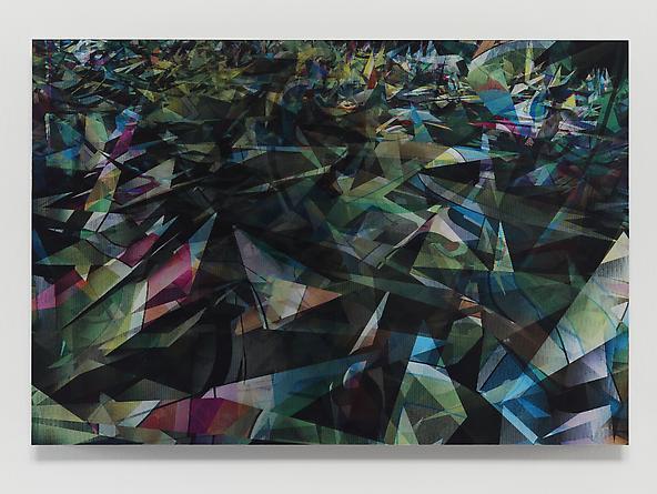 Eksplosion #2, 2012 Lenticular print 31 1/4 x 46 1/4 inches Unique