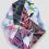 KARIM RASHID Trisaik 1, 2, 3, 2016 Digital print on polyurethane resin 78 3/4 x 59 inches SGI3213