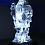 Atlantis, 2012 Acrylic, LEDs, stainless steel 86 1/4 x 29 1/4 x 39 1/8 inches SGI2498