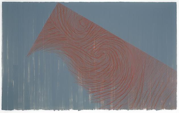 Untitled, 2013 Ink on mylar 42 x 62 inches SGI2631