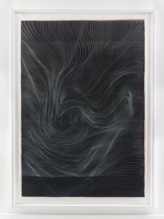 Untitled, 2014 Ink on mylar 75 x 54 inches SGI2867