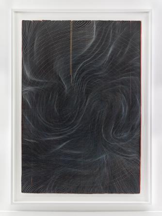 Untitled, 2015 Ink on mylar 75 x 53 inches SGI2988