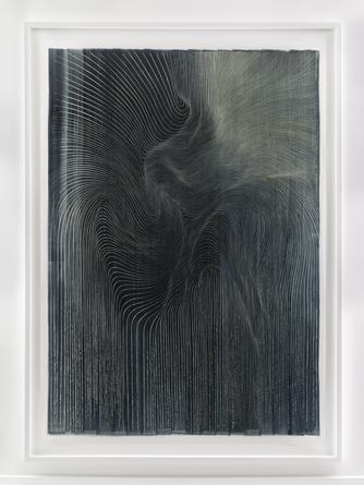 Untitled, 2015 Ink on mylar 75 1/2 x 53 1/2 inches SGI2990