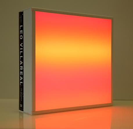 Sky (for San Jose), 2010 LEDs, painted metal, custom software, electrical hardware, exhibition catalog 12 ¼ x 12 ¼ x 3 5/8 inches Edition of 25