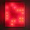 Red Life, 1999 Plexiglas, incandescent light bulbs, custom software, electrical hardware 36 x 30 x 7 inches Edition of 3