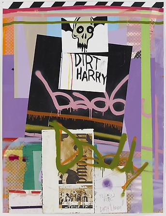 Bad Daddy, 2011 Mixed media on paper 50 x 38 inches GLG1746