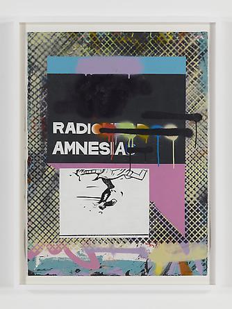 Radio Amnesia, 2011 Mixed media on paper 30 x 22 inches GLG1748