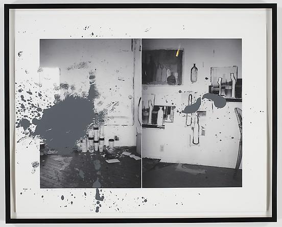 Grey Ghost II, 2008 Acrylic & digital print on paper 32 x 40 inches GLG965