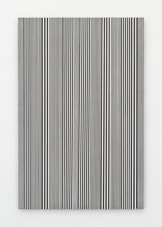 Untitled (#54), 2015 enamel on aluminum 48 x 32 inches