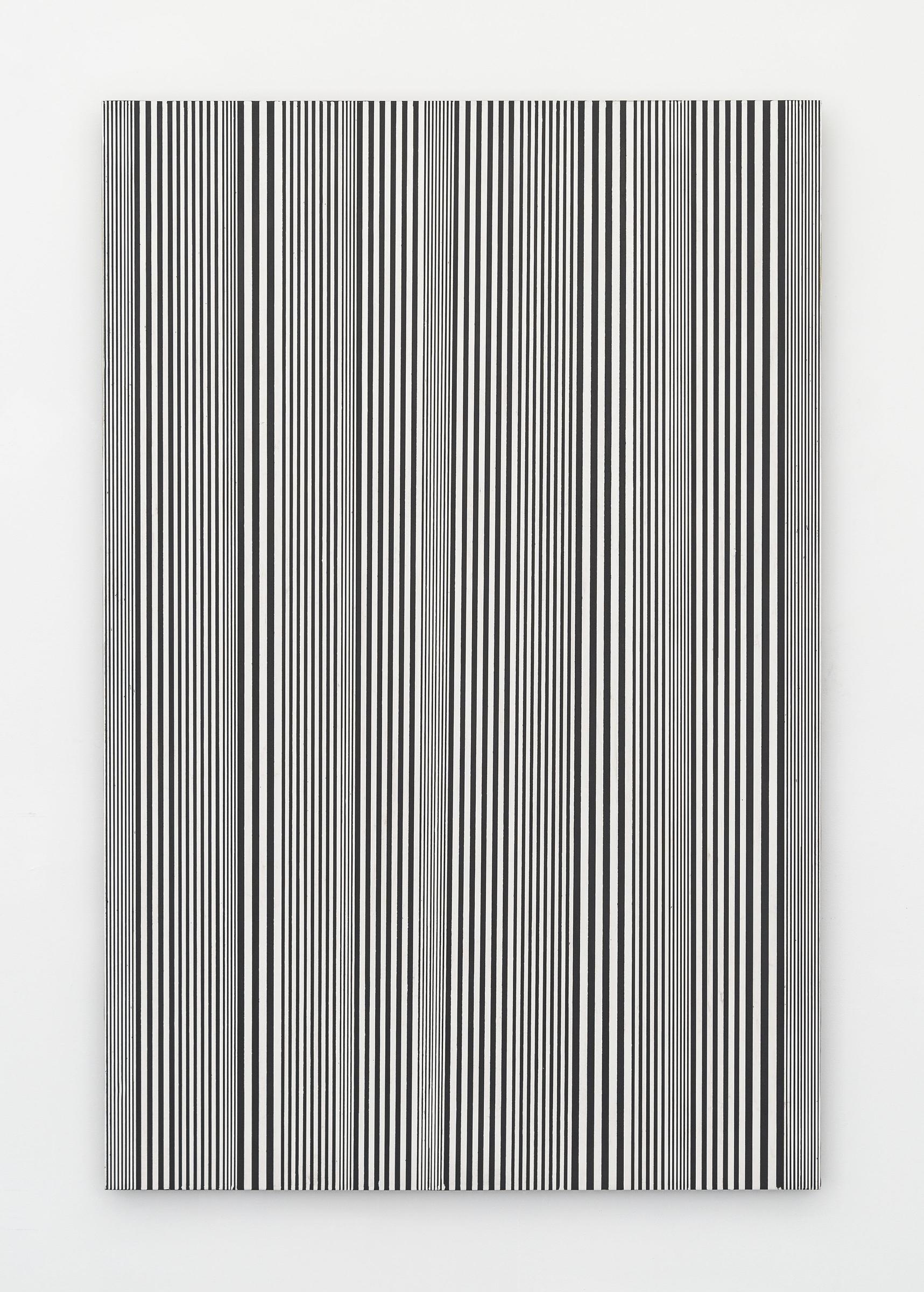 Untitled (#54), 2015 enamel on aluminum 48 x 32 inches