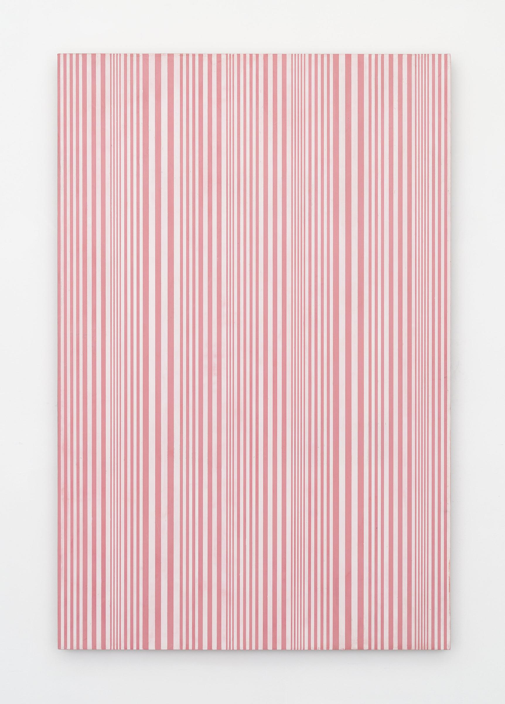 Untitled (#58), 2015 enamel on aluminum 48 x 32 inches