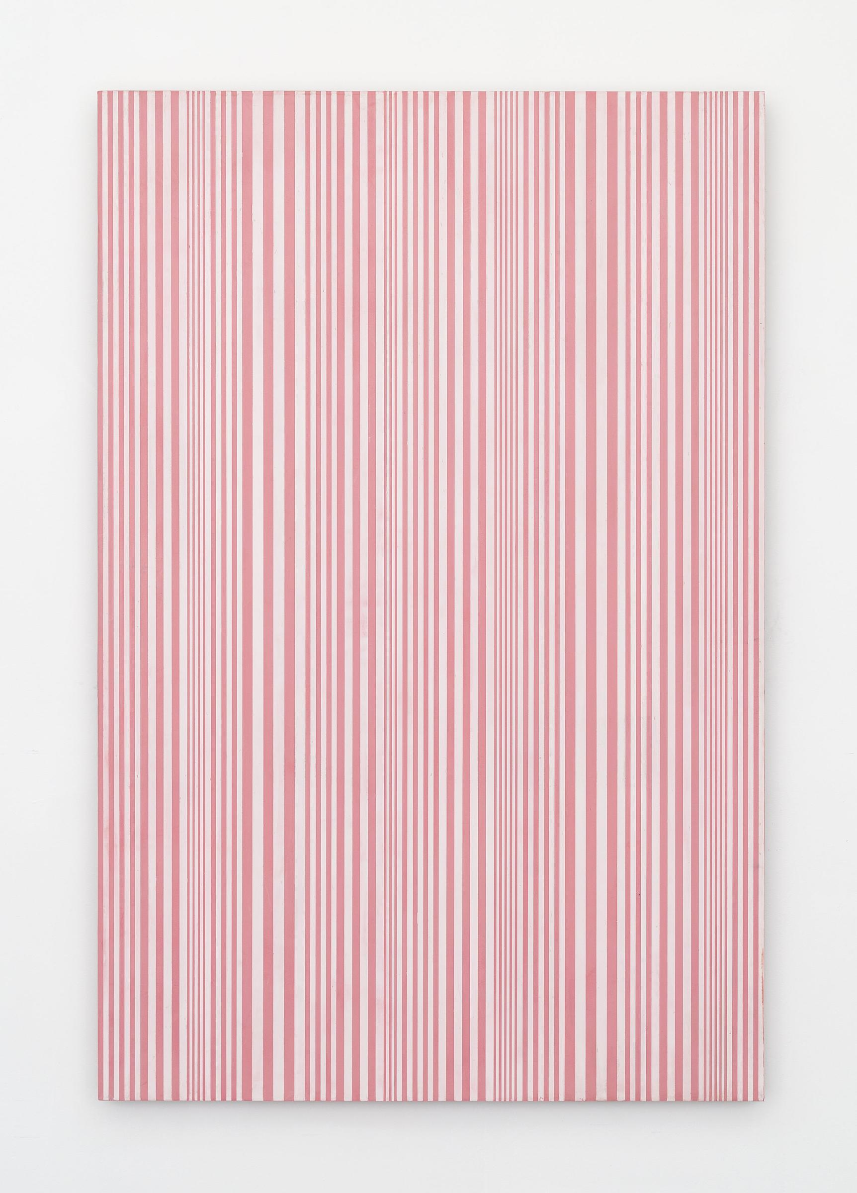 Untitled (#58), 2015 enamel on aluminum 48 x 32 inches