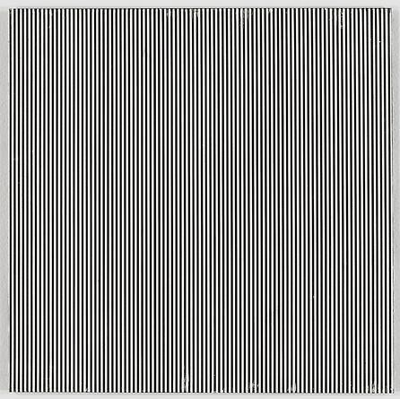 Untitled (1 2002 1-12), 2002 Enamel on aluminum 15x 15 inches GLG1184