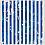 """Untitled (1-2011, 3/4""""-3/4""""), 2011 Enamel on aluminum 17 x 17 inches GLG1740"""