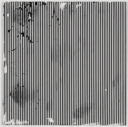 """Untitled (1-2011, 1/8""""-1/8""""), 2011 Enamel on aluminum 17 x 17 inches GLG1742"""